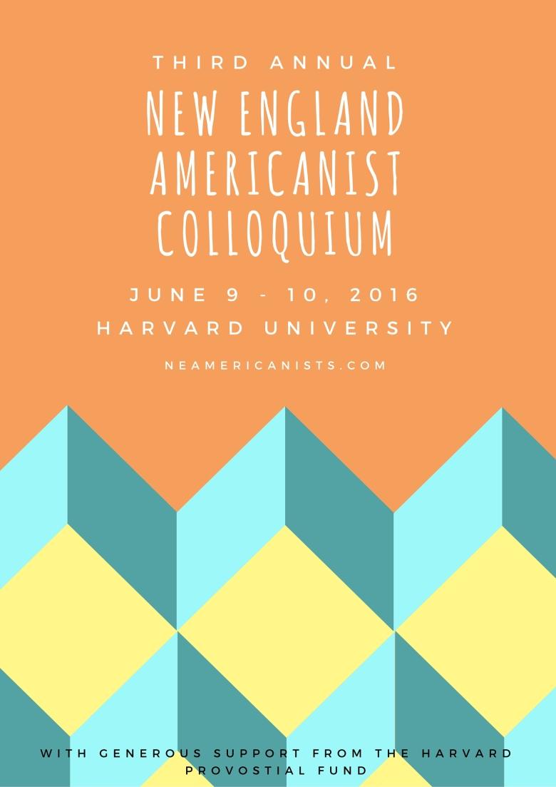 New englandamericanist colloquium